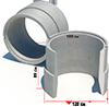 Кольцо железобетонное КСПН-10.9 тип 2 ГОСТ 8020-90