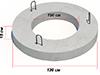 Плита покрытия колодца ПП-10.2 ГОСТ 8020-90