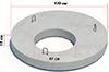 Плита покрытия колодца с пазом ППП-15.2 ГОСТ 8020-90